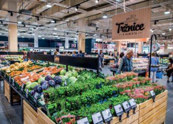 Foto z prodejny hypermarket Albert na Chodově.